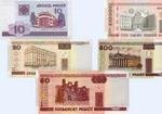 Белорусский рубль гривна