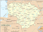 Города Литвы
