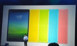 Xiaomi представила яркие стильные и недорогие планшеты Mi Pad