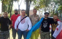 Грузинские бойцы АТО: Будем стоять за Украину до конца