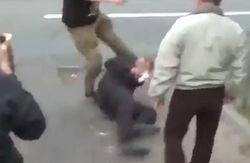 Под Марьинкой местные жители пытались убить милиционера