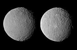 На планете Церера обнаружили инопланетные элементы
