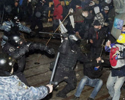 МВД Украины передало в Генпрокуратуру материалы по избиению активистов Евромайдана