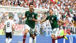 Автор гола в ворота немцев мексиканец Лосано