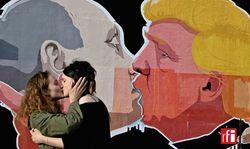 Большая любовь Путина и Трампа