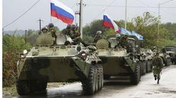 РФ продолжает военные маневры у границ Украины