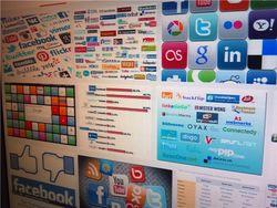 Самые популярные социальные сети у россиян в июле 2014г.