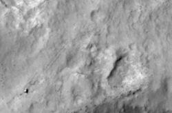 НАСА представила снимки Curiоsity, сделанные зондом с орбиты Марса