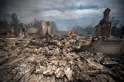 Украинская авиация разбомбила завод в Луганске – «Права справа»