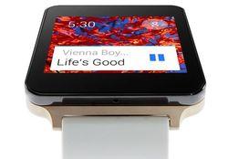 LG поделилась видео о G Watch