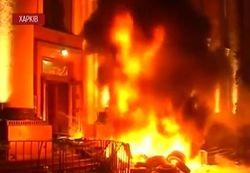 Евромайдан Харькова не пускали к «Ленину» - пролилась кровь