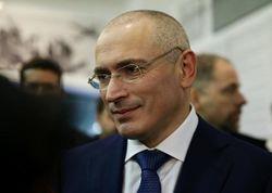 М. Ходорковский на Майдане с Ю. Луценко