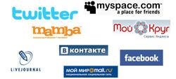 Определены 25 самых популярных социальных сетей у россиян