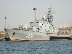 В Крыму захвачены два украинских корвета