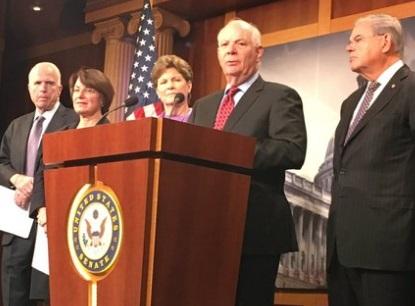 Вамериканском Сенате подготовили законодательный проект оновых санкциях против Российской Федерации