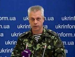 """""""Грады"""" и танки обстреляли блок-пост сил АТО"""