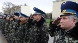 Состав Внутренних войск Украины полностью выведен из Крыма