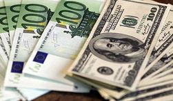 Курс евро продолжает снижаться к доллару на Forex