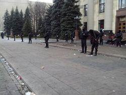 В Харькове ОГА освобождена, задержали 70 сепаратистов