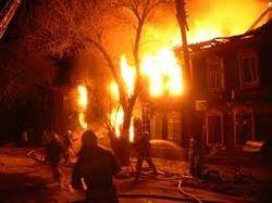 Пожар в жилом доме Астрахани - есть погибшие