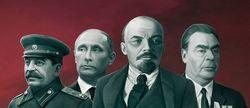 Путин стрелял в Ленина, но попал в Сталина
