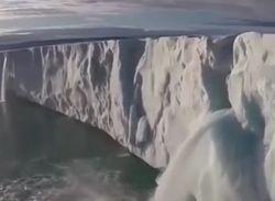 Ледовая шапка Антарктики стремительно тает