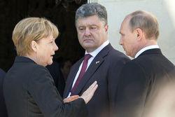 СМИ раскрыли подробности переговоров Меркель, Олланда и Путина