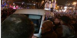 """""""Титушки"""" начали атаку на Евромайдан, невзирая на """"Беркут"""""""