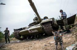 В Луганской области боевиков заменяет армия РФ - СНБО