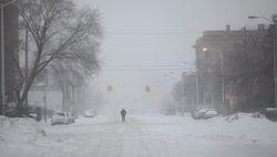 В США из-за аномального снегопада отменены 2300 авиарейсов