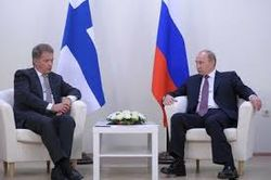 Встреча президентов России и Финляндии