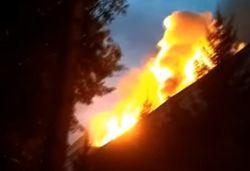 Во Львовской области спалили дотла музей УПА