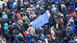 Евромайдан запретил Януковичу подписывать документы с РФ в Москве