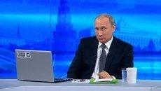 «Прямая линия» Путина превратилась в театр абсурда – эксперт