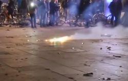 В центре Кельна сотни мигрантов напали на местных жителей