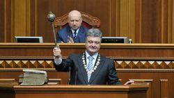 Два года президентства Петра Порошенко в цифрах