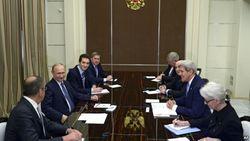 Эксперты не ожидают оттепели после встречи Керри с Путиным