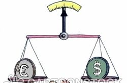 Трейдеры оценили среднесрочное движение пары евро/доллар