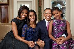 Барак Обама: Нелегко быть единственным мужчиной в доме