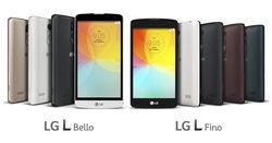 LFino и L Bello — смартфоны начальноо уровня от LG