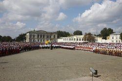 В Новочеркасске установили новый рекорд хорового казачьего пения