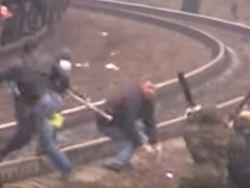 В Мариуполе идет бой: сожжен банк, атакован офис партии