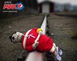 Pepsi извинилась перед футболистом Роналду за рекламу с куклой вуду