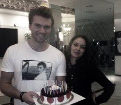 День рождения «холостяка» Искорнева: без возлюбленной, но с Басковым
