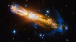 В NASA показали снимок бриллиантовой «звездной смерти»