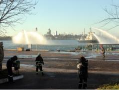 В Одессе паника и драка за воду из-за вони аммиака