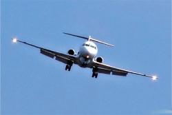 В Москве приземлился самолет из Днепропетровска с горящим двигателем