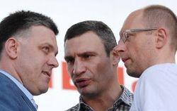 Лидеры оппозиции не прокомментировали встречу с Януковичем
