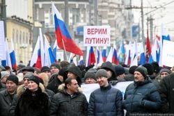 Россияне не обращают внимания на обвинение Путина в коррупции