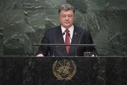 Украинская делегация во главе с Порошенко отбыла на Генассамблею ООН